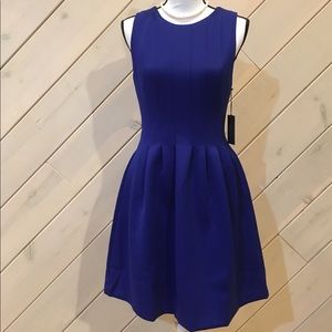 VINCE CAMUTO ROYAL BLUE SLEEVELESS DRESS💙👌🏼M